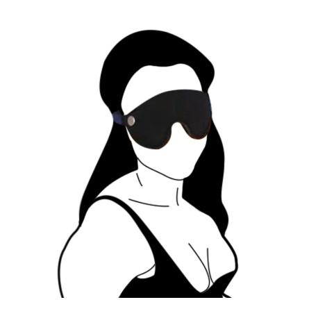 Antifaz - Máscara BDSM de cuero