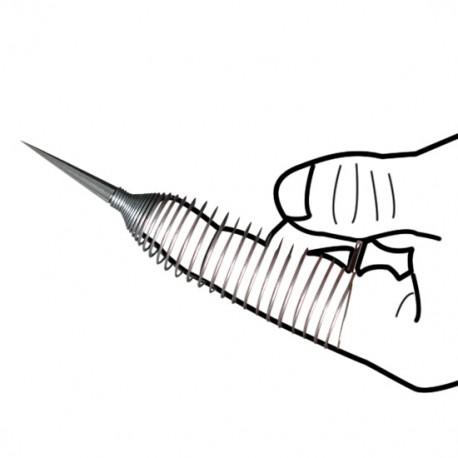 El dedo del mal - Aguja para juegos BDSM