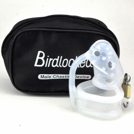 Jaula de castidad - BirdLocked silicona - Tres diámetros disponibles