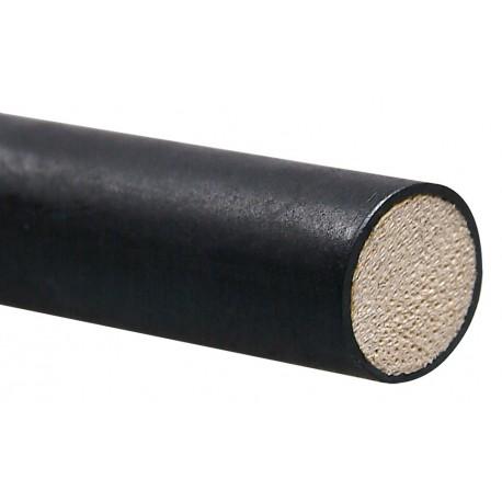 Grande cravache en rotin recouvert de latex