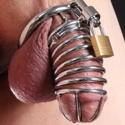 La Serpiente - Jaula de castidad de tipo tubular
