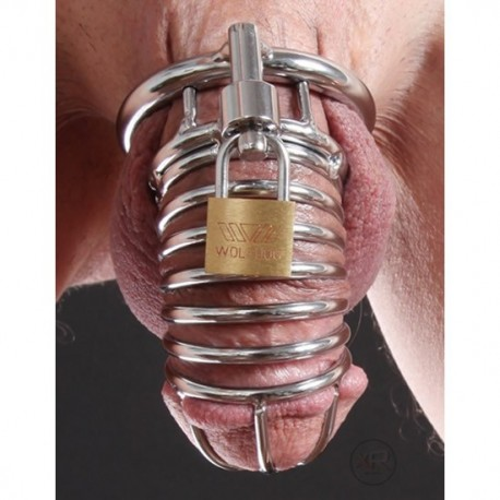 Die Schlange - Keuschheitsgürtel Typ röhrenförmigen