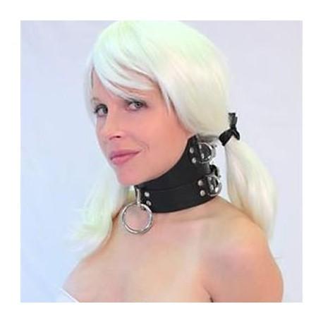 Halskette Herrschaft Vorlage Leder hohem Kragen