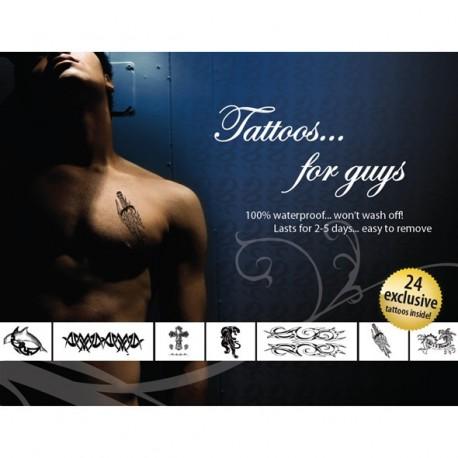 Tatouages Temporaires Sexy - Burlesque Pin-up