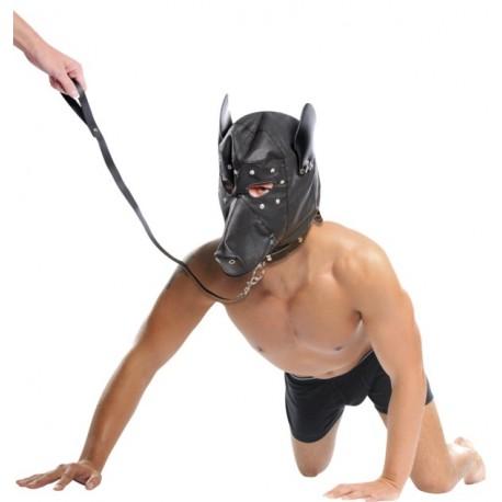 Submission Bondage Hood Dog