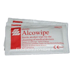 Pack de 10 Toallitas desinfectantes con alcohol