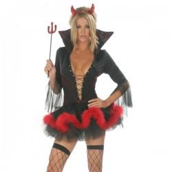 Traje de Bruja - Diablesa sexy