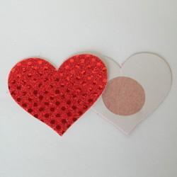 Cubre-pezones - Nippies - Corazón sencillo