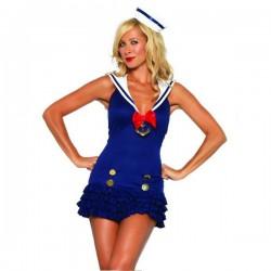 ¡ Traje de grumete sexy marinero para mujer !
