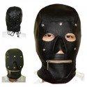 Pasamontañas con máscara extraíble y cremallera en la boca