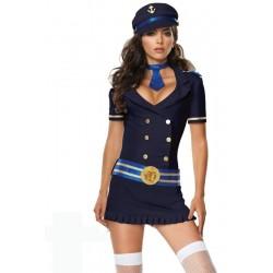 Traje : ¡ Conjunto con falda de marinera sexy !