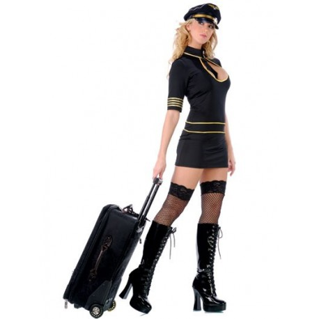 Kostüm sexy Stewardess