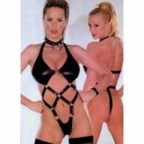 Body correas sumisión: queen latex spécial