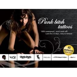Tatuajes Temporales Sexy - ¡ Punk !
