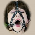 Arnés spider gag : para boca abierta