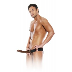 Extensión de pene : punta de chocolate con cinturón
