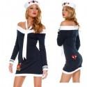Disfraz - Traje : ¡ Vestido ajustado de marinera, grumete sexy !