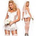Vestido de novia sexy traje