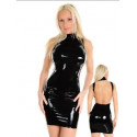 Vinilo - estilo látex faldas y vestidos